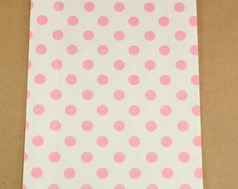 Pink Polka Dot  Bitty Bags