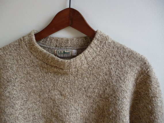 Ll Bean Wool Sweater - Gray Cardigan Sweater