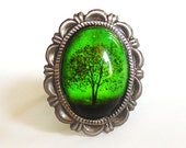 Emerald Bewitched -- Ring