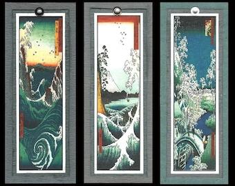 Landscape Bookmarks by Hiroshige bmls002