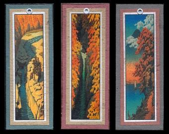 Hasui Water Scene Bookmarks bmls012