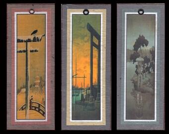 Hasui Landscape Bookmarks bmls013