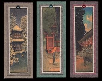 Hasui Architecture Bookmarks bmas003