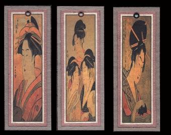 Ukiyoe Bijin Bookmarks bmcs016