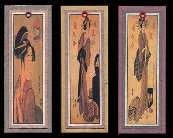 Ukiyoe Bijin Bookmarks bmcs030