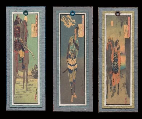 Samurai Bookmarks bmds027