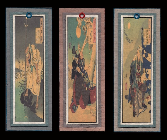 Samurai Bookmarks bmds031