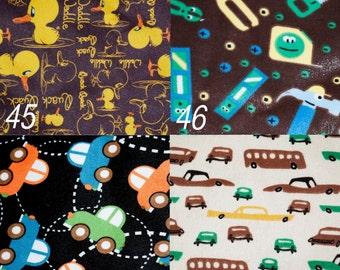 You Choose the Print or Minky (prints 45-58) cloth pocket diaper