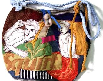 wearable sewn art