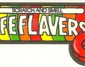 Vintage 80's Mello Smellos LIFESAVERS Candy Scratch and Sniff Sticker