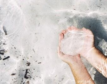 Senses II. - 8 x 12 Fine Art Photography print. Summer, sea water, sunshine, ocean. Home, office decor.