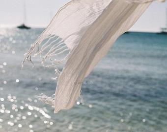Sea of Tranquility - 8 x 12. Sea, breeze, summer, light. Home decor, beach home.