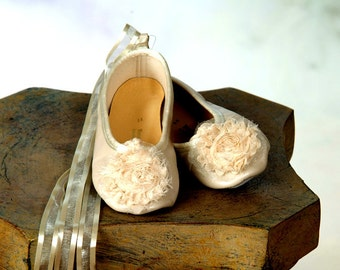 Simply Shabby Chic Ballet Slippers
