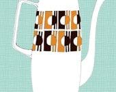 Kitchen Art Print - Vintage Coffee Pot