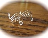 Silver-plated Wire wrapped Ear Cuff-listing for 1 Cuff