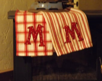 Monogrammed Kitchen Towel - Personalized with your Initial