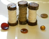 Branch / Wood Spools (set of 3)