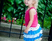 Ruffle Cupcake five tier skirt - Available Sizes 12 months to 6T