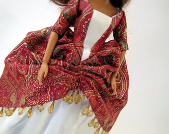 Historic Royal Barbie dress set: Catherine of Aragon