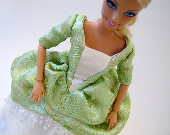 Historic Royal Barbie dress set: Princess Iseult of Ireland