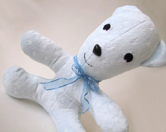 Starry Blue Bear stuffed toy