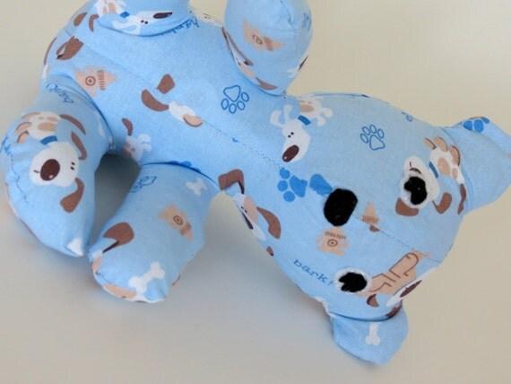 Light Blue Puppy Dogs baby teddy bear