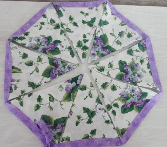Waverly Sweet Violets Valance Fabric Bunting By Buntingstore