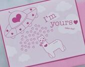 Alpaca in the Sky // I'm Yours // UFO Card