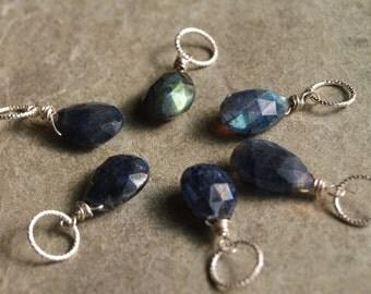 Labradorite Charm Pendant- Create your Own Charm Necklace #9