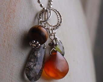 LAST CHANCE Calcite Charm Pendant - Create Your Own Charm Necklace