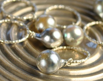 Akoya Pearl interchangeable Charm