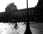 The Louvre Entrance, Paris 6x9