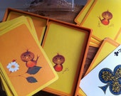 Vintage Bird Playing Cards/ Bridge Cards- Cheerful Chirpers Recently Reduced