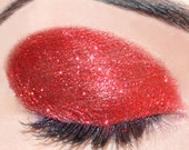 Ruby Slippers - Red Micro Sugar Glitter Topping - For Eyes Face Nails and Body