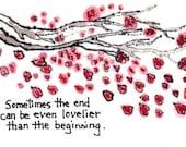 The Ending (Cherry Blossom Wisdom)