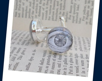 Anatomy Cuff Links - The Eyes .... Or you choose your favorite body part