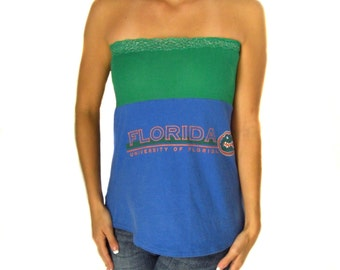 One of a Kind Gameday Shirt made w/ Florida Tshirt - Small - On Sale and Free Shipping