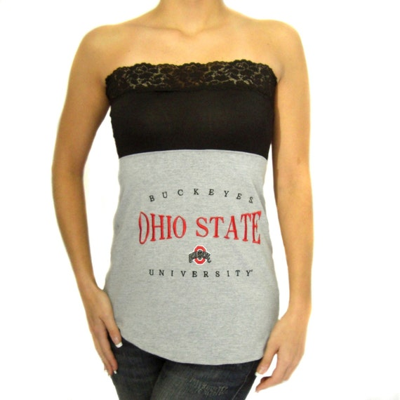 One of a Kind Gameday Shirt made w/ Ohio State t shirt-XSmall - On Sale and Free Shipping