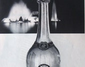 Original french advert for Champagne dated 60's