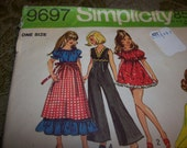 1971 Fashion Doll clothes Pattern