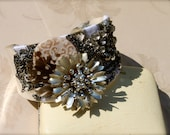Vintage and Repurposed Jewelry Cuff