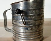 Vintage Flour Sifter Bromwell's 5 Cups