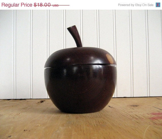 50% OFF SALE Vintage Wooden Apple Box