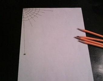 spiderweb stationary