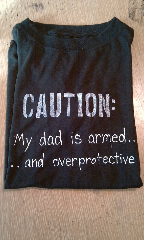 Recommended Washer And Dryer Over-protective dad t-shirt