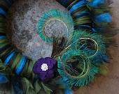 Picky Peacock Tu-Tu Tulle Wreath