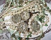 Glass Dresser Knobs/Antique Inspired
