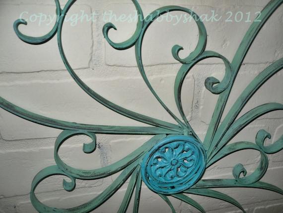 Items Similar To Metal Wall Decor / Wrought Iron Wall