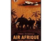 AFRICA 3s- Handmade Leather Photo Album - Travel Art