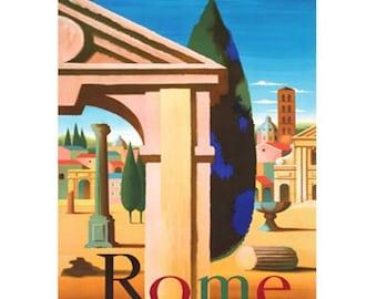 ROME 1S- Handmade Leather Photo Album - Travel Art